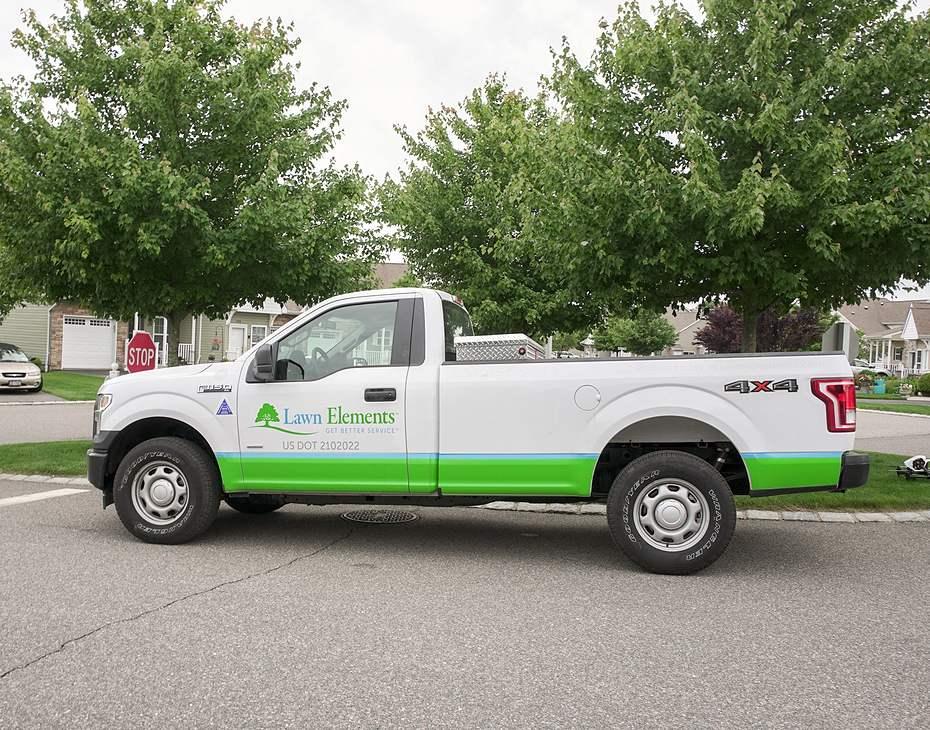lawn elements truck